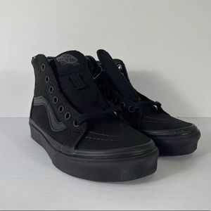 Vans Sk8-Hi Pop Check Black Black Sneakers